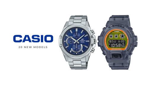 Casio 20 new models