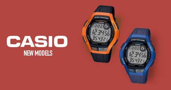 Casio and Casio Edifice new arrivals